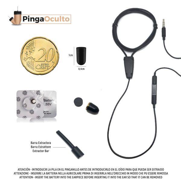 Collar Inductor Pinganillo Vip Pro UltraMini PingaOculto