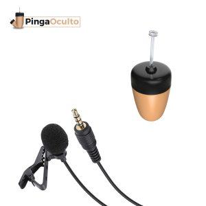 Pinganillo Vip Pro Mini Microfono PingaOculto