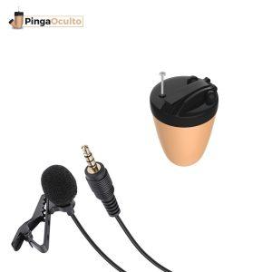 Pinganillo Vip Pro + Micrófono Externo