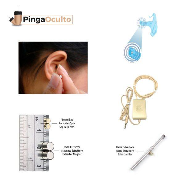 Collar Inductor Pinganillo Nano V3