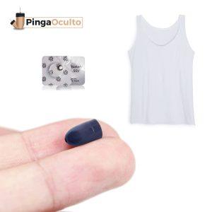 Camiseta Micrófono Exámenes Pinganillo Vip Pro UltraMini