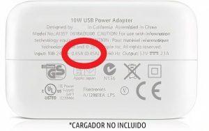 Cargador Cámara Wifi Oculta Para Exámanes Pinganillo