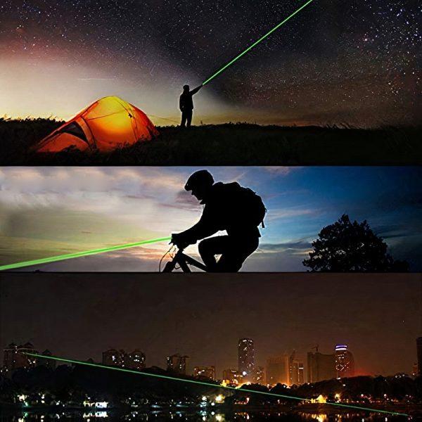 Laser Astronómico Potente Verde Puntero Laser Astronomía