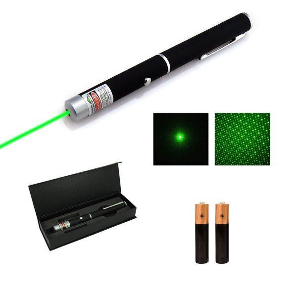 Laser Verde Puntero Verde Potente Larga Distancia Presentaciones